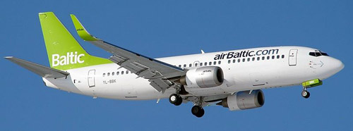 airBaltic Airline Latvia