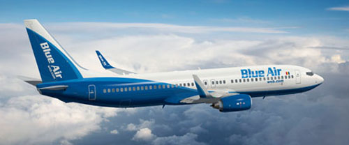 Blue Air Low-cost Airline