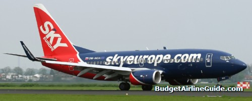 SkyEurope Airlines Low-cost Airline