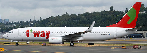 T'way Airlines Low-cost Airline
