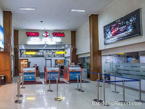 Bandung Airport Immigration Counters