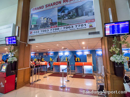 Bandung Airport Check-in Counters