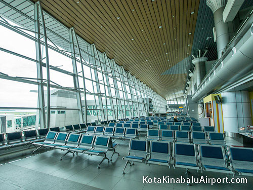 BKI Airport Departures Area