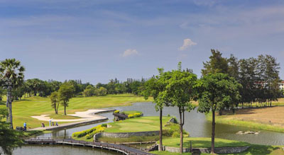Golf Course at Le Meridien Suvarnabhumi Airport Hotel