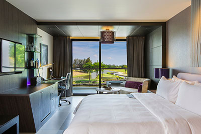 Room at Le Meridien Bangkok Airport