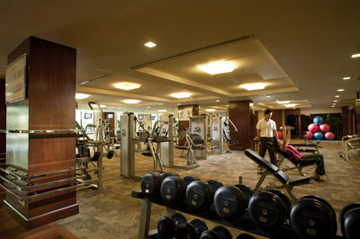 Fitness Center at Novotel Bangkok Airport