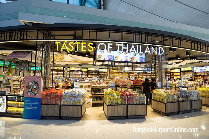 Tastes of Thailand offers a wide selection of snacks and Thai food specialties.