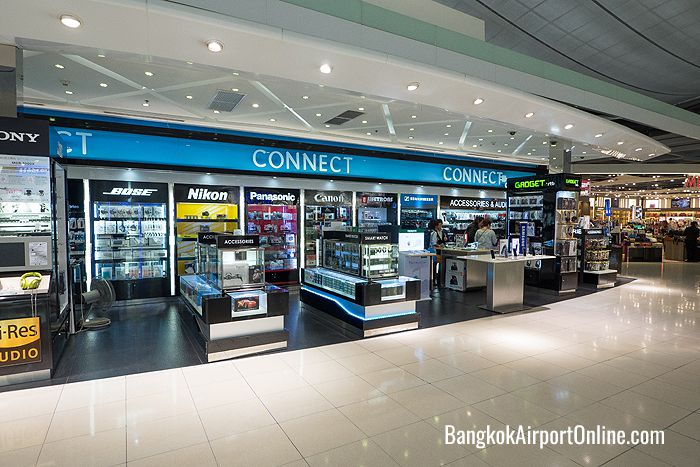 Find the latest gadgets at the Connect shop