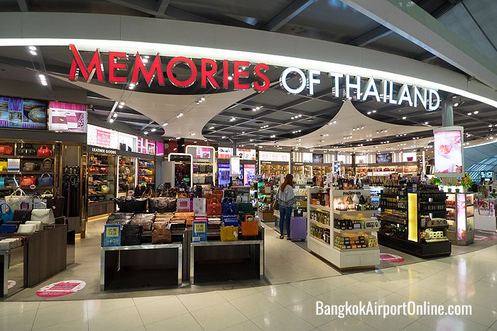 Bangkok Airport Duty Free Shopping