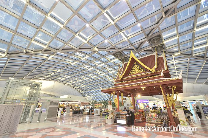 Shopping Pavilion at BKK airport