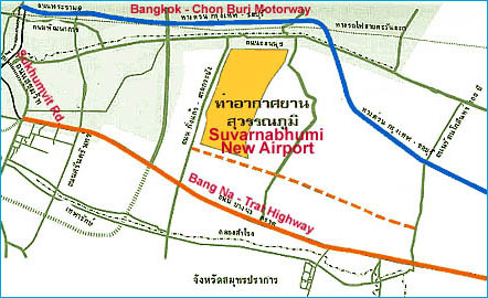 Suvarnabhumi Airport Map