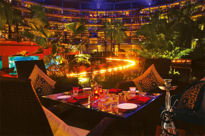 Mabruk Restaurant at Sahara Start hotel Mumbai