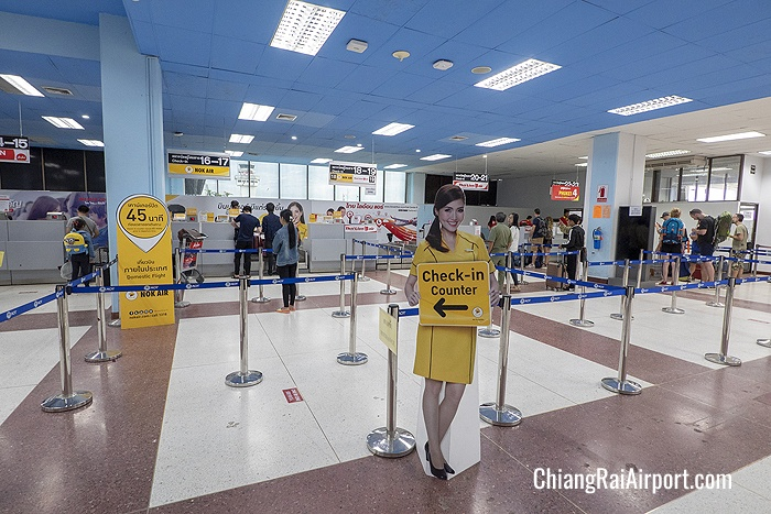 Chiang Rai Airport Check-in Counter