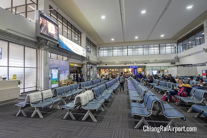 Departure Gates waiting area