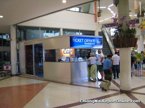 Bangkok Airways Ticket Counter