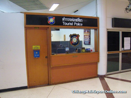 Chiang Mai Airport Tourist Police Office