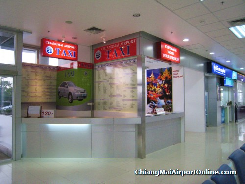 Airport Taxi Counter