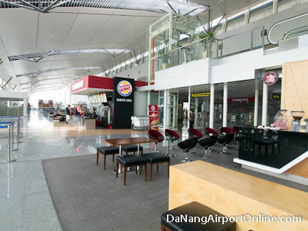 Departures Waiting Area - Burger King Restaurant