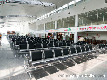 Departures Waiting Area Da Nang Airport
