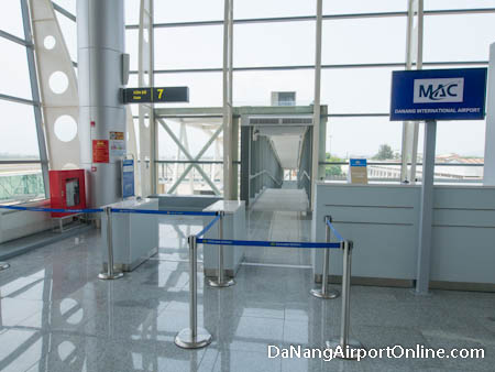 Departure Gate Da Nang Airport