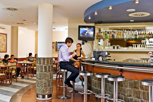 Bar at Airhotel Domodedovo Airport