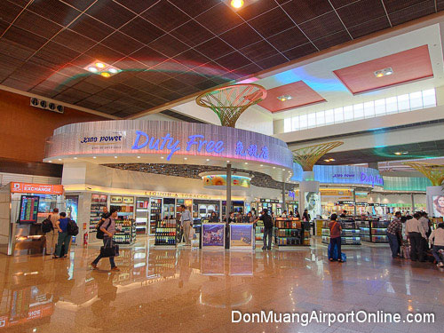 duty free shopping don mueang airport guide rh donmueangairport com bangkok airport don muang or suvarnabhumi airport bangkok don muang transport