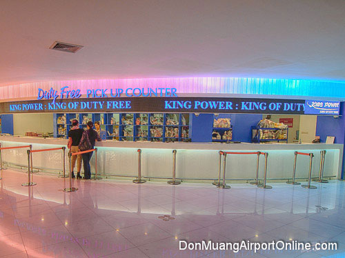 King Power Duty Free Pick Up Counter
