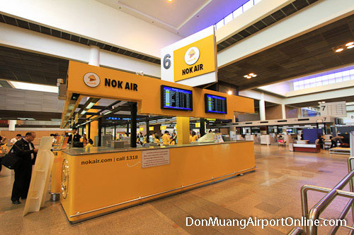 Nok Air Check-in Counters