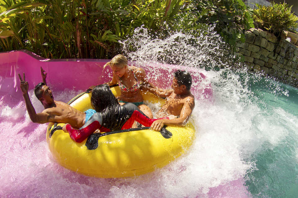 Spend a fun day at Waterbom Bali water park