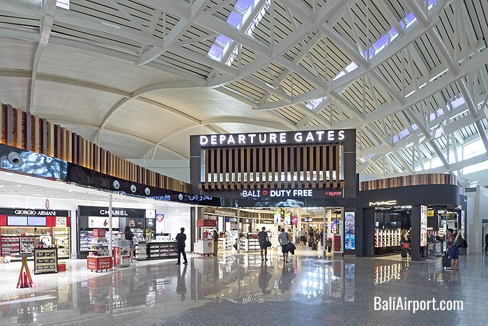 Bali Airport Duty Free Shopping