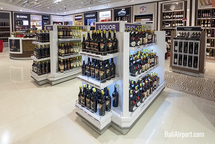 Wide range of wines and spirits from around the world