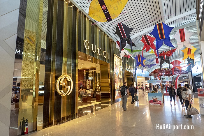 Gucci Boutique at DPS airport