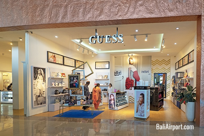 Guess Shop at Bali Airport
