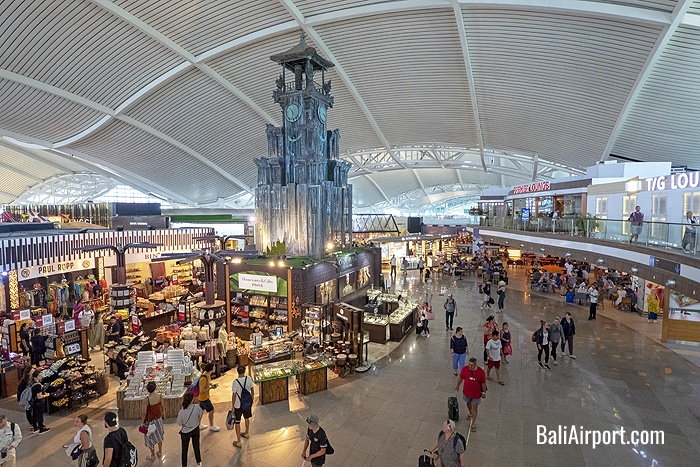 Departures Area - Duty Free Shopping, Dining and Premium Lounges