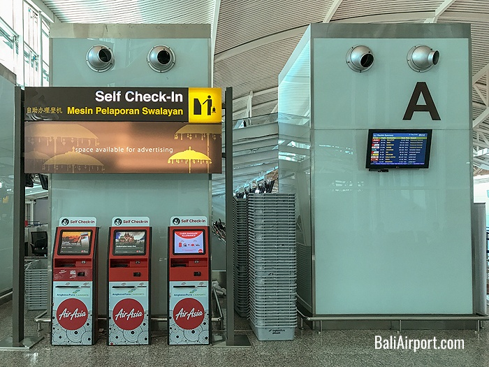 AirAsia Self Check-in Machines