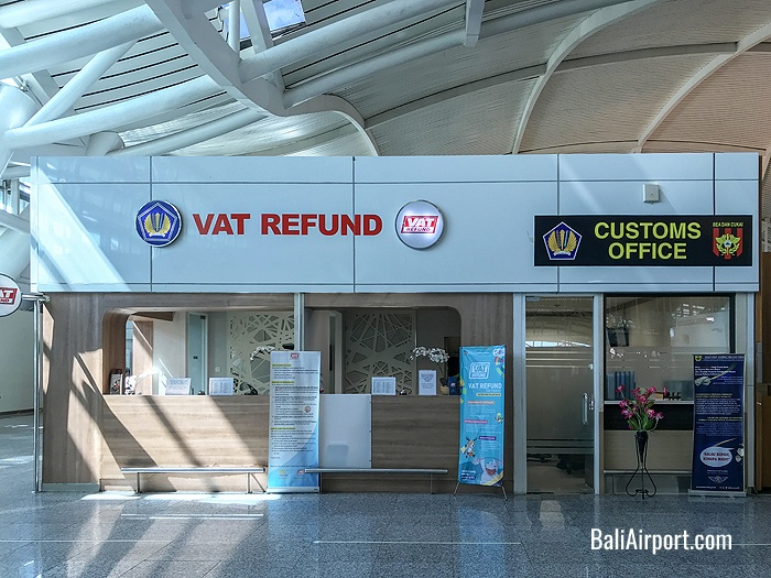 Vat Refund and Customs Office at Bali Airport