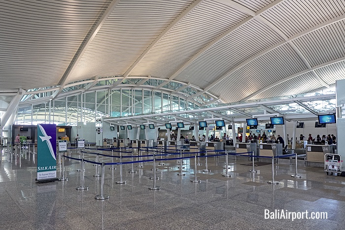 Bali Airport Check-in Counters