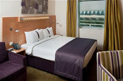 Room at Holiday Inn Express Dubai Airport