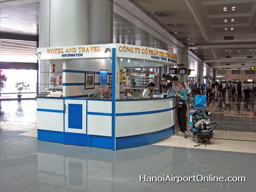 Hanoi Airport Information Counter