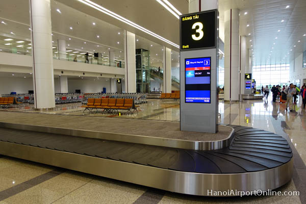 Arrivals Baggage Claim Area