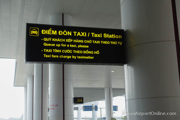 Hanoi Airport Taxi Metered