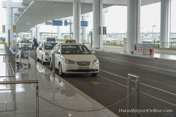 Taxi Stand Hanoi Airport International Terminal 2