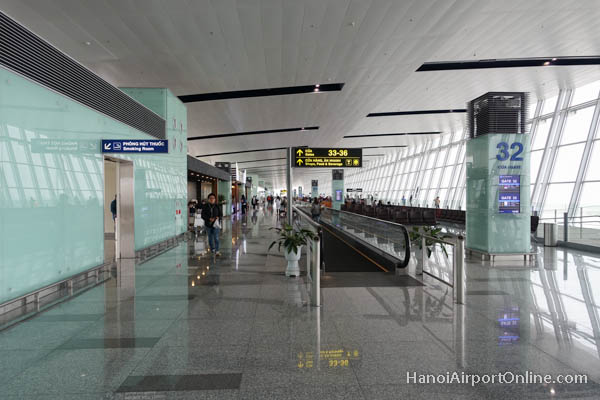 Hanoi Airport International Terminal Departure Gates