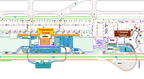 Hanoi Airport Terminal Map