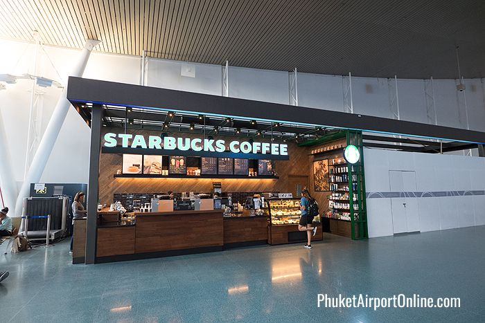 Starbucks Coffee at Phuket Airport