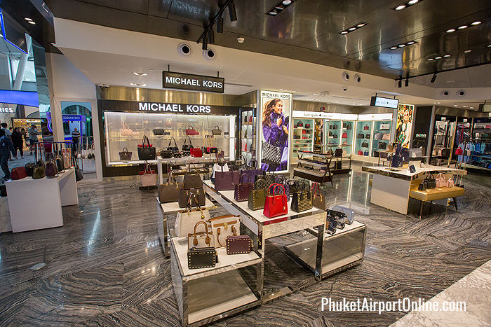 Latest fashions at Phuket Airport Duty Free