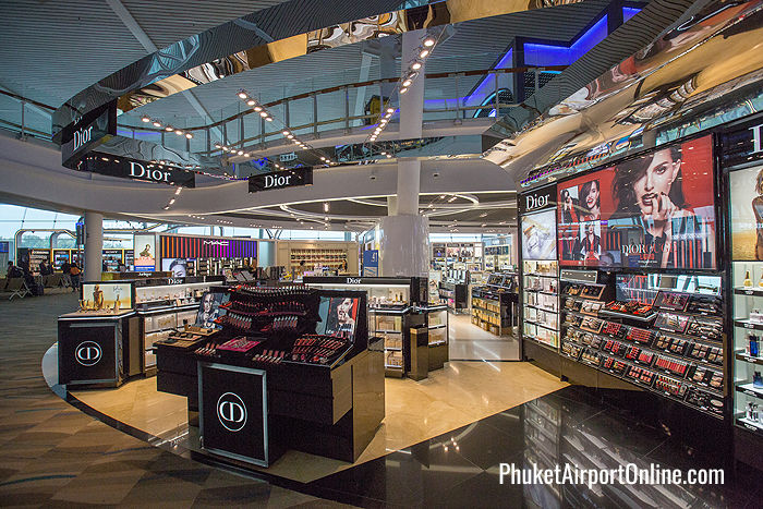 Dior counter at Phuket Duty Free
