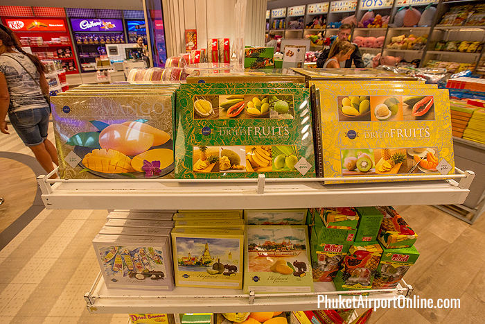 Dried fruit at Phuket Duty Free