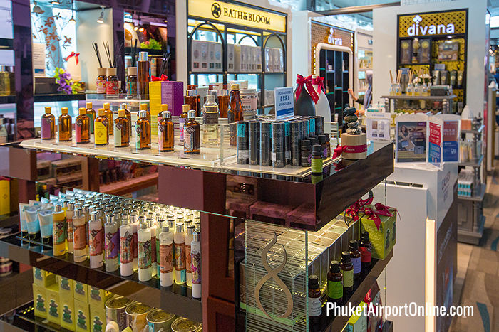 Top Thai aromatherapy brands at Phuket Airport