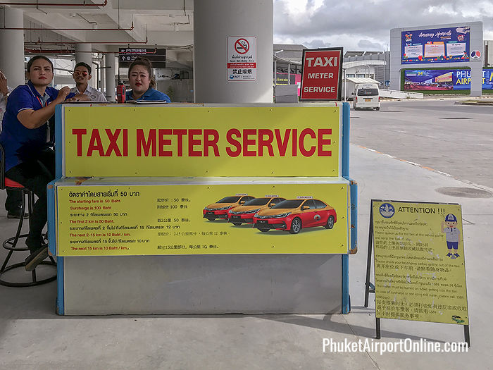 Taxi Counter at the Domestic Terminal
